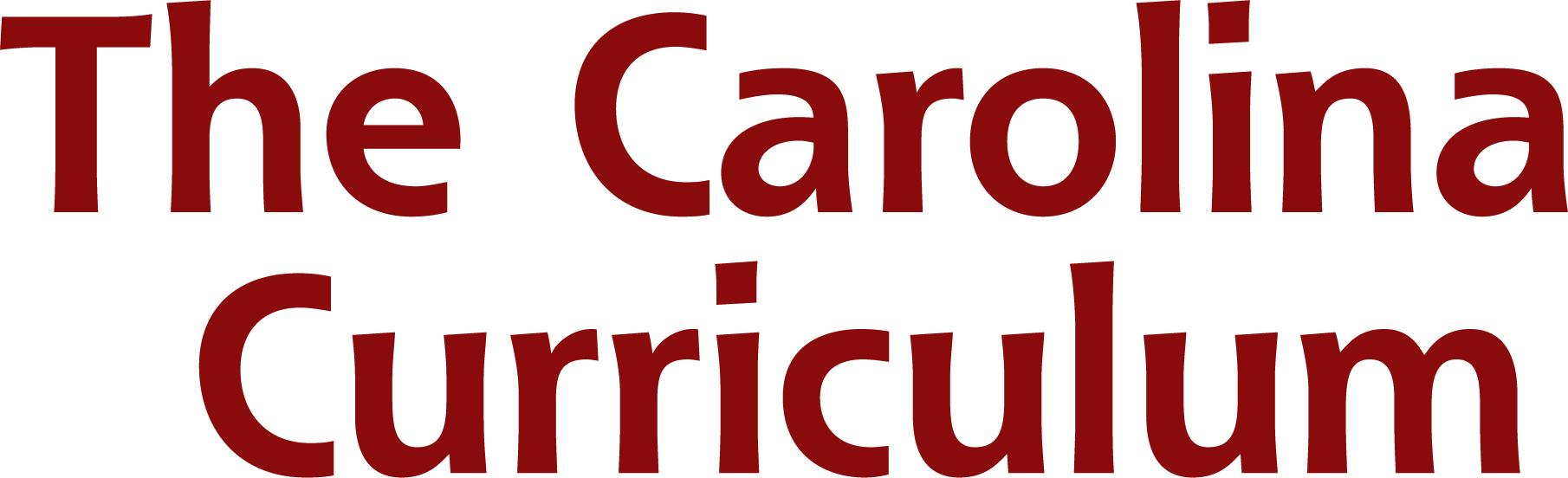 The Carolina Curriculum Seminar