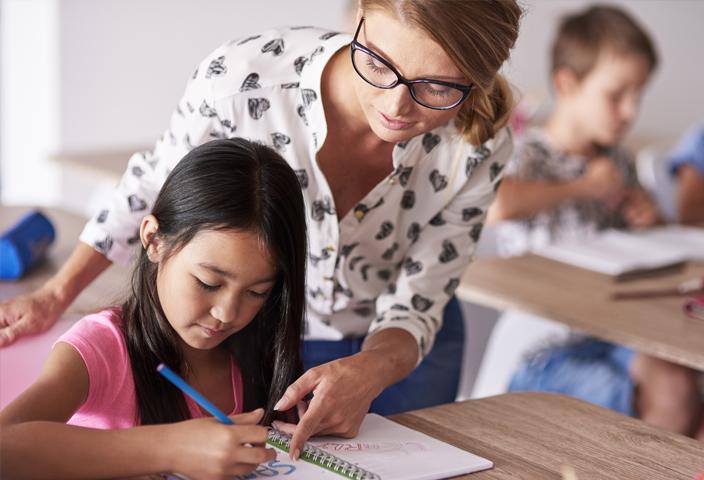 Our textbooks get teachers ready to teach